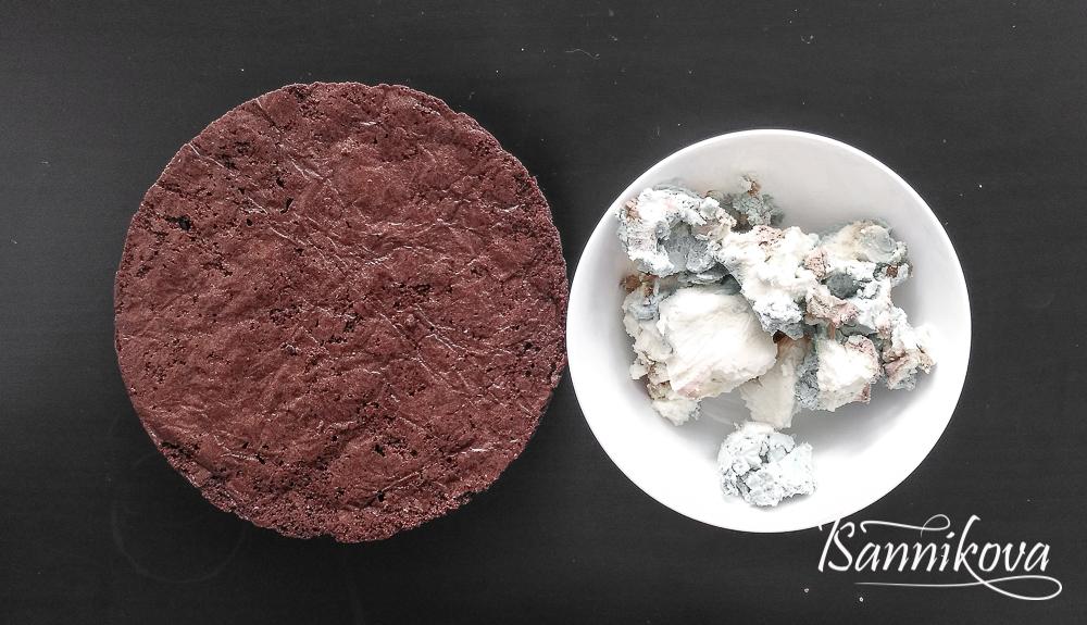 Ингредиенты на бисквитный трюфель