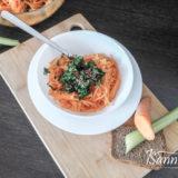 Морковный салат с медово — лимонной заправкой
