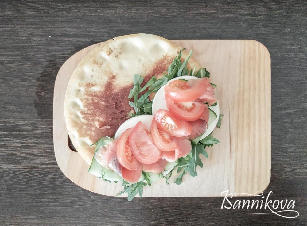 Завершающий слой - помидор