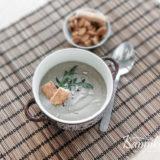 Крем — суп из белых грибов