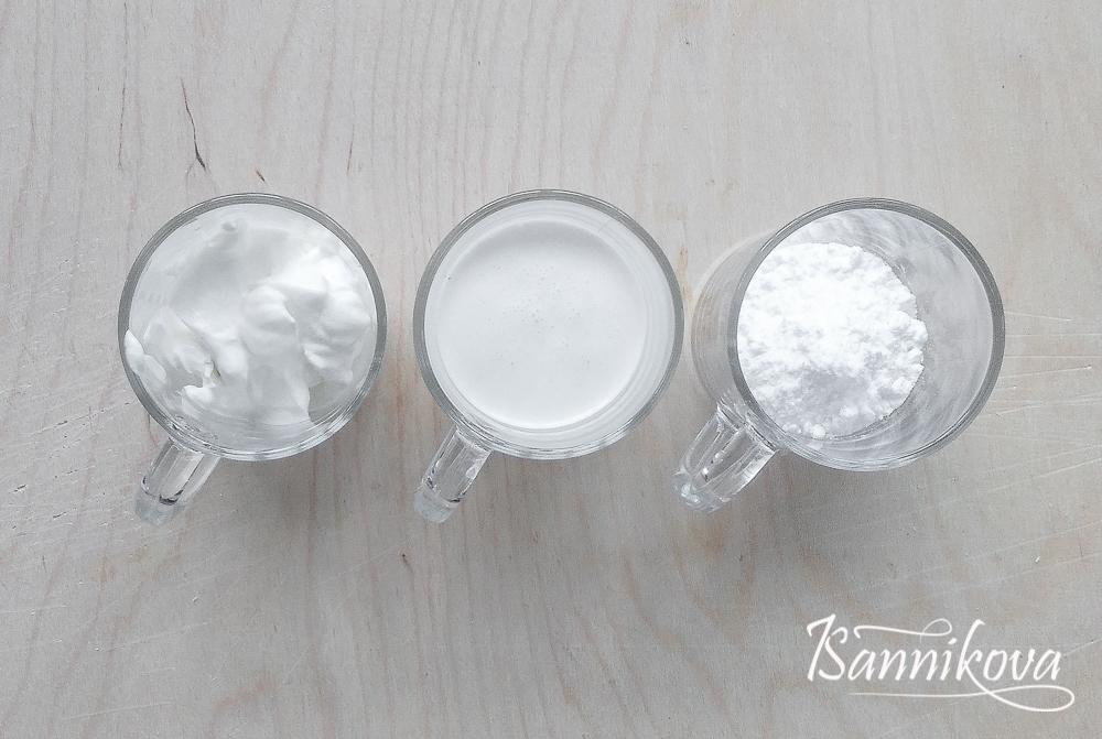 Список ингредиентов для сливочно - сметанного крема