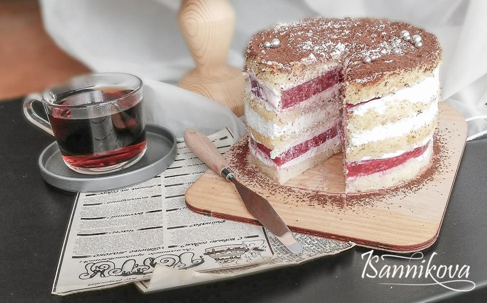 "Торт ""Малина со сметаной"" готов"