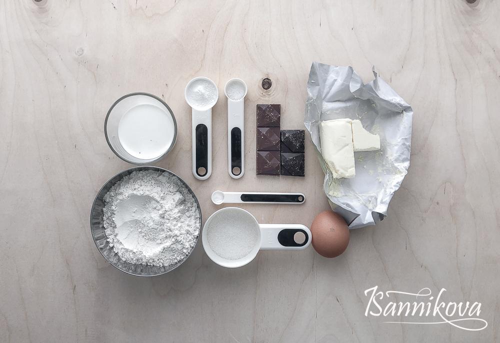 Список ингредиентов для сконов с шоколадом